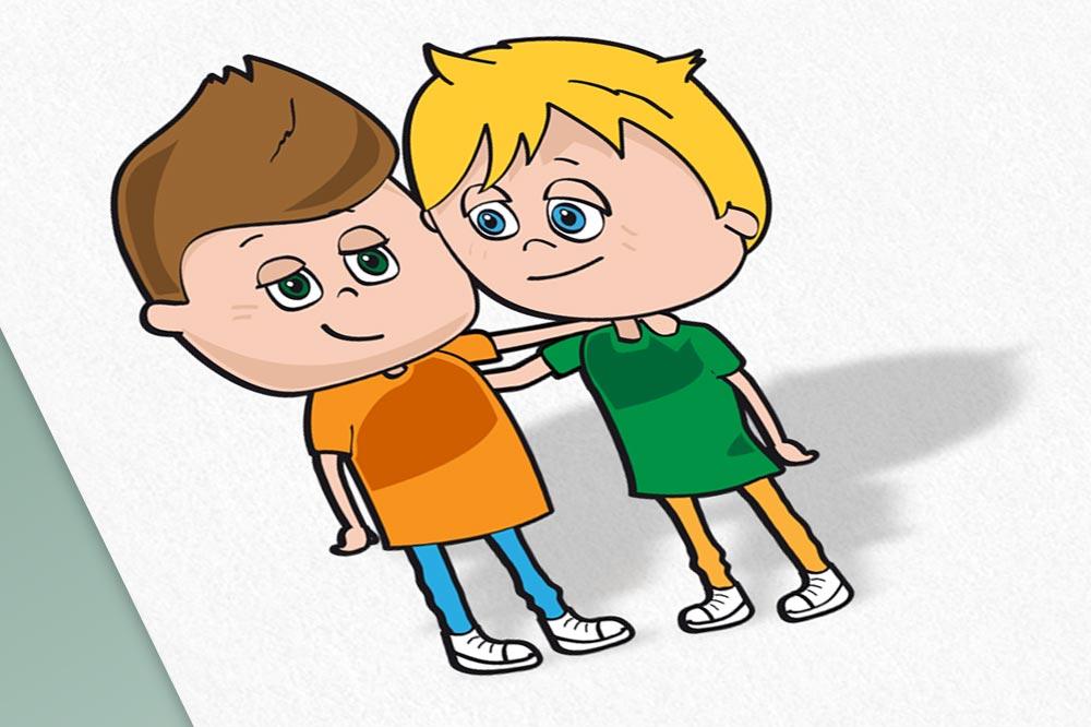 Illustratie character ontwerp