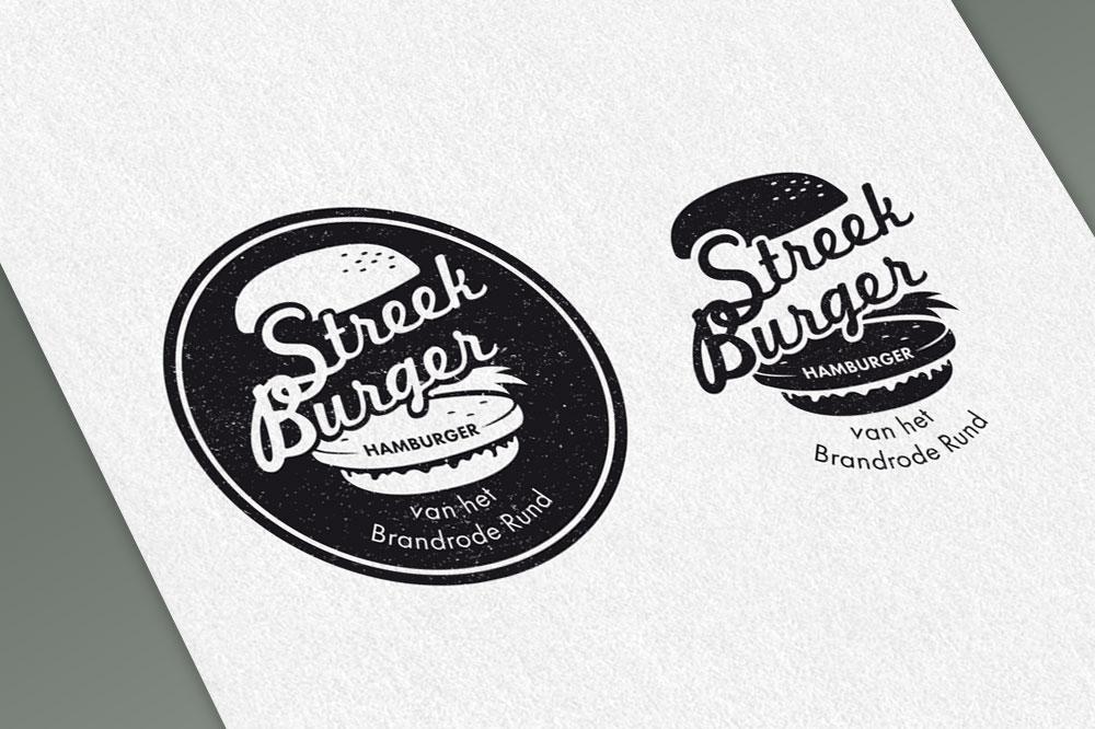 Illustratie voor logo Streekburger