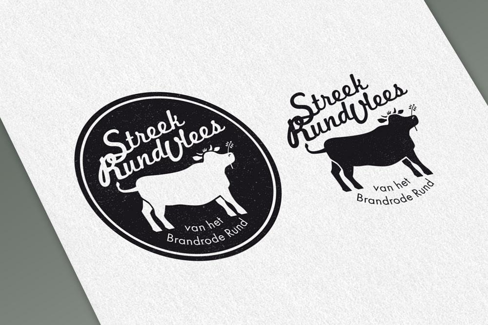 Illustratie voor logo Streekrund
