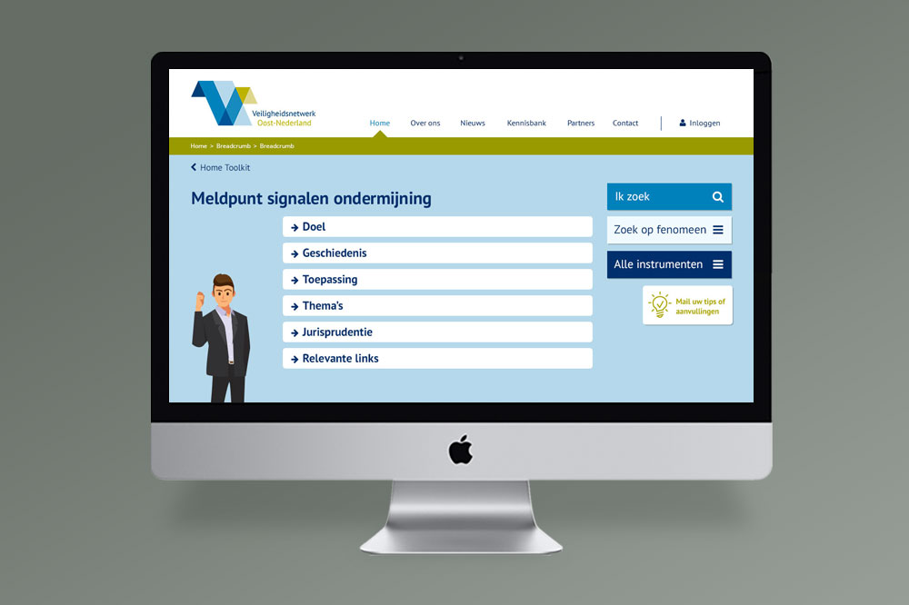 Webdesign toolkit weerbare gemeente