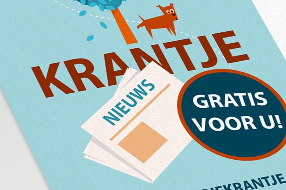Illustratie ontwerp flyer