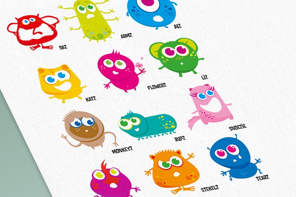 Character ontwerp kids
