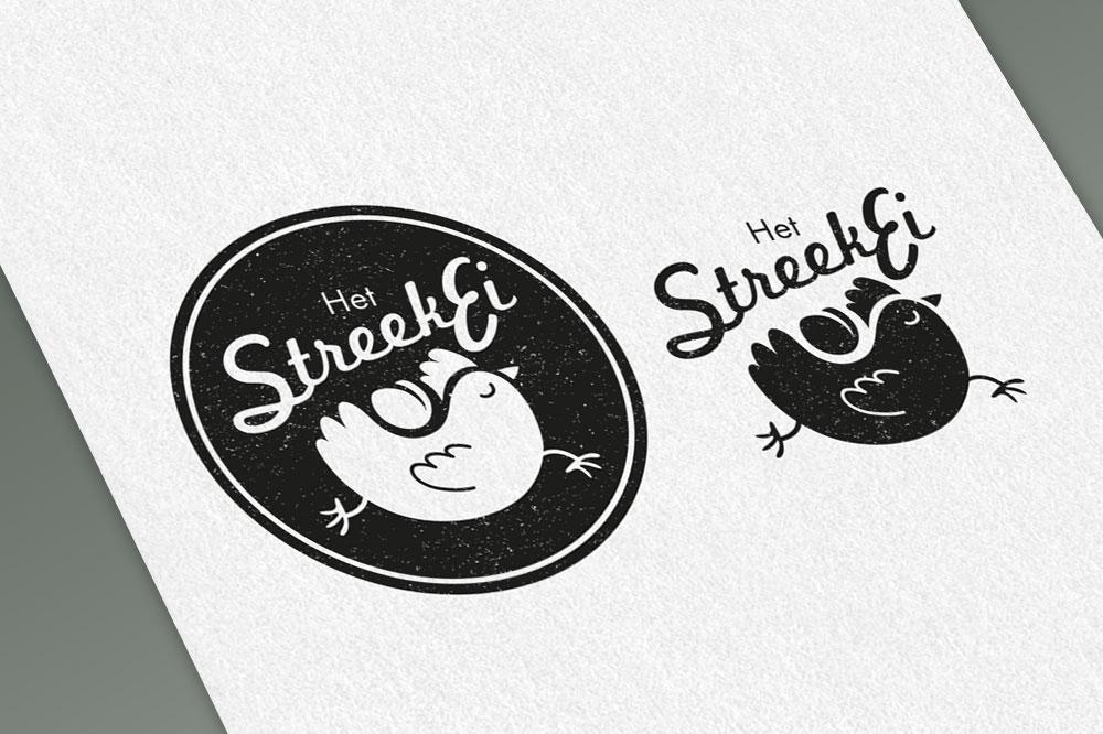 Illustratie voor logo Streekei